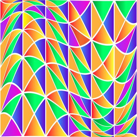 Wavy Mosaic Ilustração