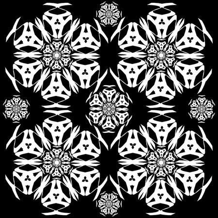 holiday celebrations: Snowflake Pattern