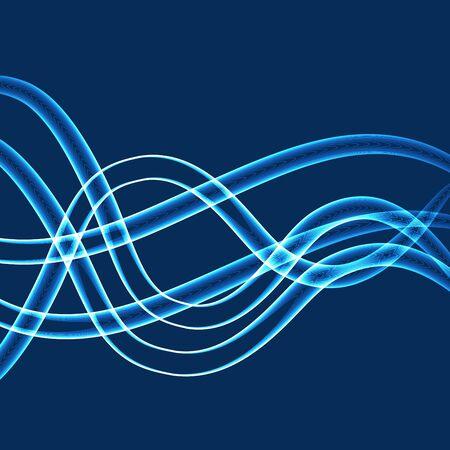tubos fluorescentes: Neón azul Tubos