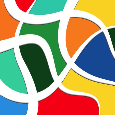curves: Curvas y Colores Vectores