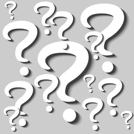 cutouts: Question Mark Cutouts