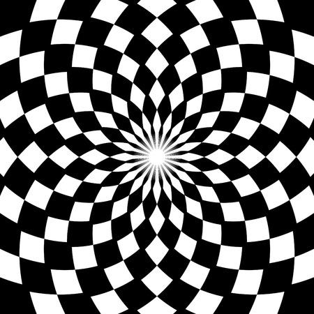 checkerboard: Checkerboard Floral Pattern