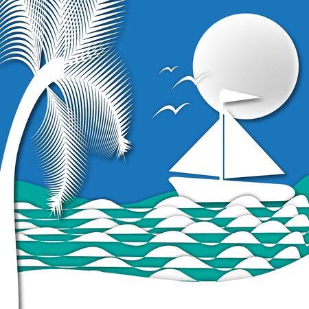 Sailing Reklamní fotografie