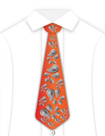 White Shirt and Tie