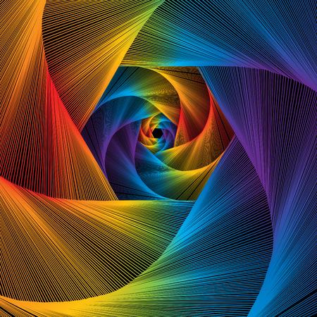 Struny Spectrum Ilustracje wektorowe