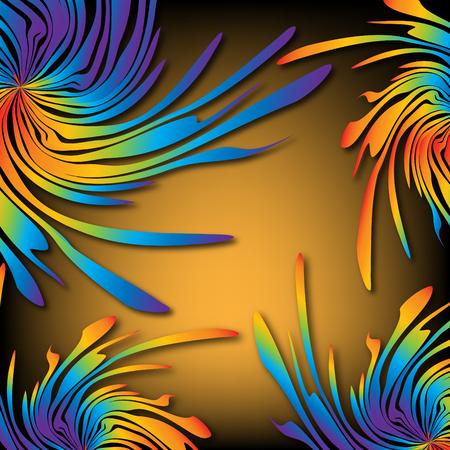 Rainbow Splatters