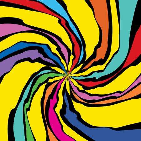 Pop Art Floral Pattern