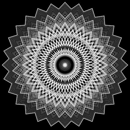 Zigzag Lace Pattern