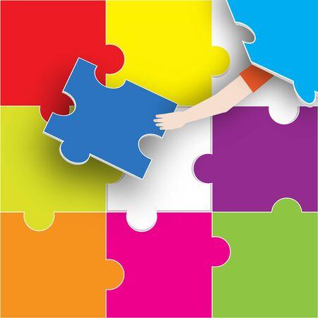 The Last Piece of the Puzzle Reklamní fotografie