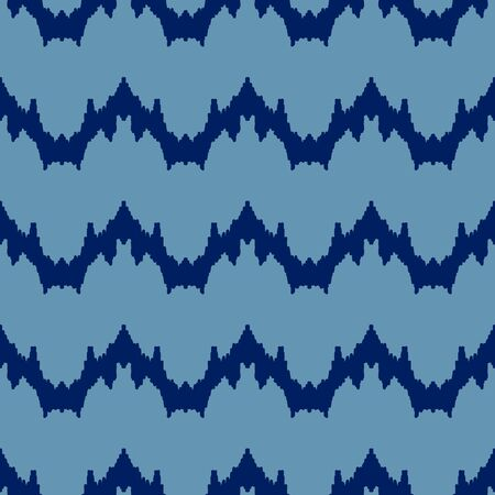 Seamless Chevron Pattern, Vector Illustration EPS 10.