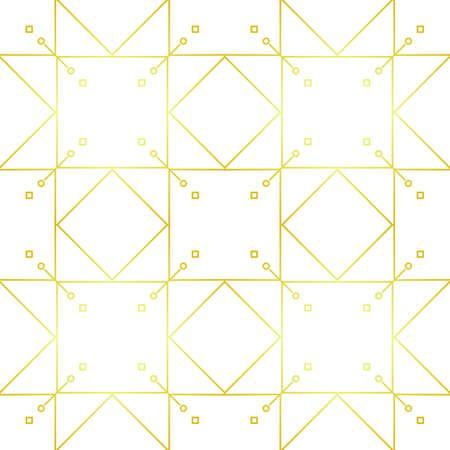 Seamless Art Deco Pattern Elegant Style Illustration