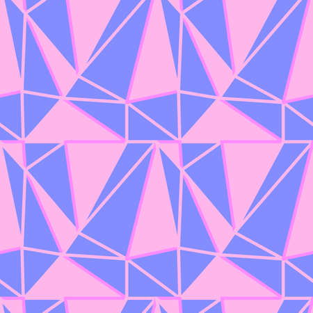 Seamless Elegant Abstract Triangles Pattern
