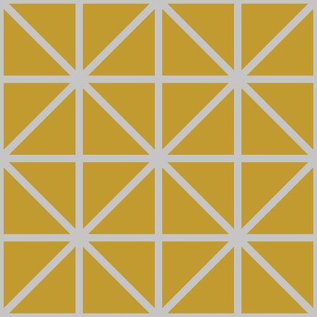 Seamless Geometric Pattern Art Deco Strip Elegant Style.