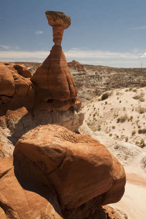 paria: Toadstool in Paria Wilderness, Utah