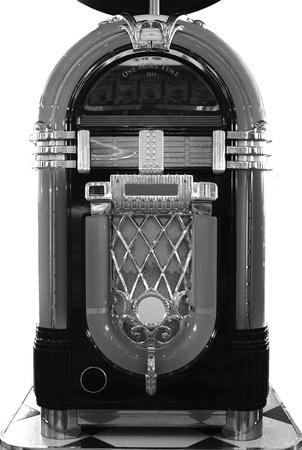 70 s: Black and White Juke Box