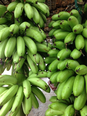 southeast asia: A roadside stall selling bananas in Southeast Asia  Stock Photo