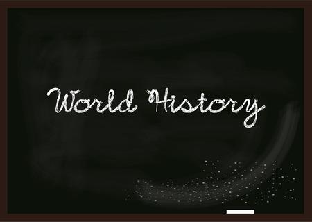 social history: World History  Illustration