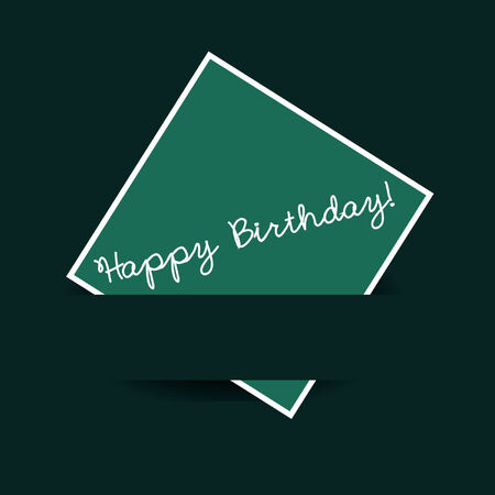 notecard: Happy Birthday Note Card