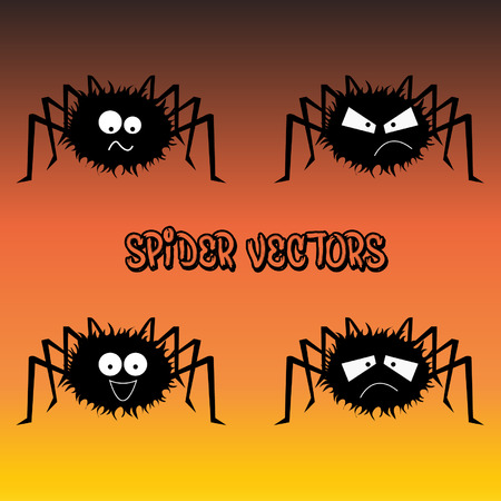 Spider Emotion Vectors  Vector