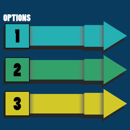 infocharts: Option Arrows Illustration