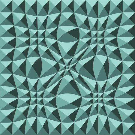 puckered: Green Studded Puckered Pattern