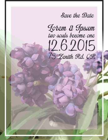 wed beauty: Floral Wedding Invitation Card Design