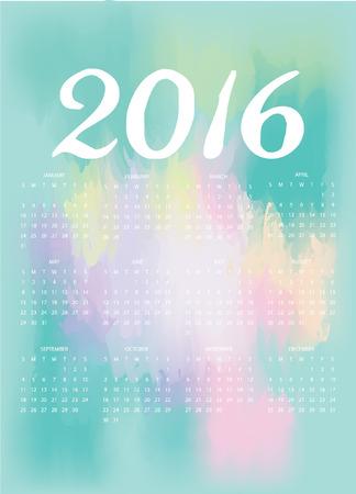 tiffany blue: 2016 Calendar