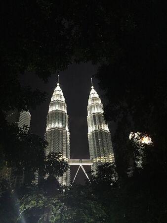 klcc: Kuala Lumpur Convention Centre KLCC at night Stock Photo