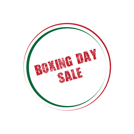 boxing day sale: Boxing Day Sale Button