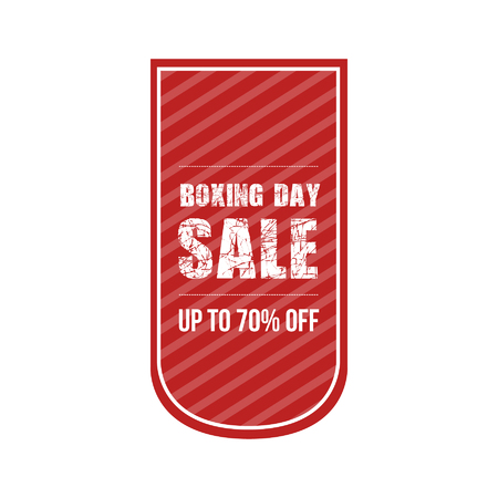 boxing day sale: Boxing Day Sale Sticker