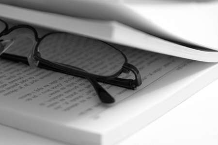 Glasses in the book