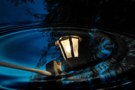 Lamp reflection