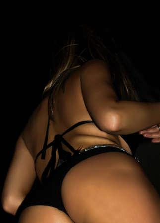 Girl dancer                               Stock Photo