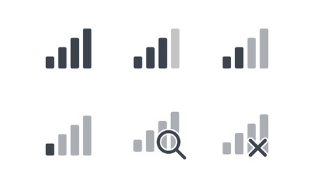 Cellular Signal Bar Indicator