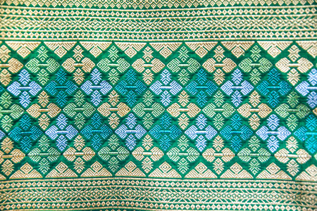 pattern traditional sarong for a background