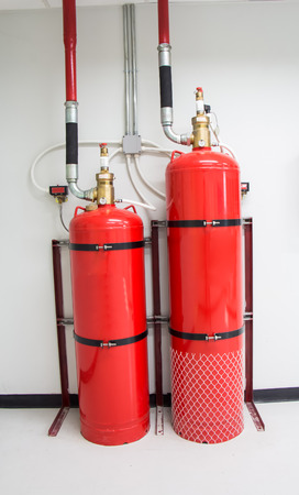 Fire extinguishing system photo