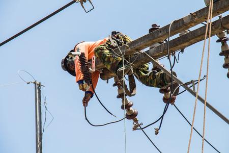 Maintenance of power distribution system 22 kv