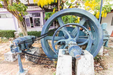 horse pipes: Generators old started the season started for electricity in Thailand