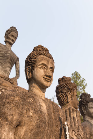 Buddha statue Enlightenment and the personal were sitting photo