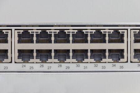 lan: LAN port hub switch for communication system
