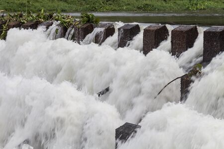 dams: Reservoir from hydroelectric dams in Thailand