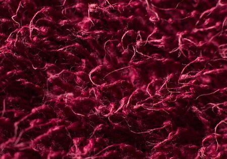 bath towel: Red Bath Towel Texture Macro