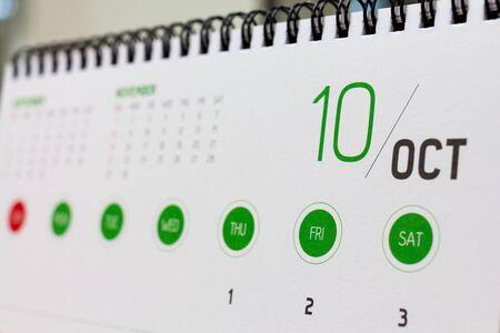 calendario octubre: Cabecera calendario octubre. 2015 a�o calendario.