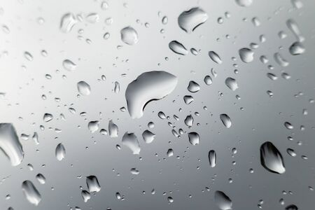 auto glass: Drop water on auto glass. Stock Photo