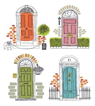 puertas de madera: Puertas