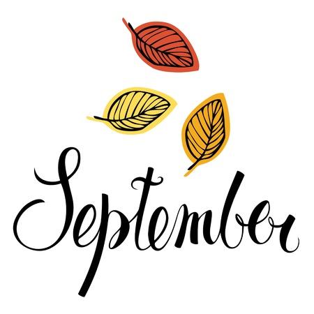 calendario escolar: Septiembre
