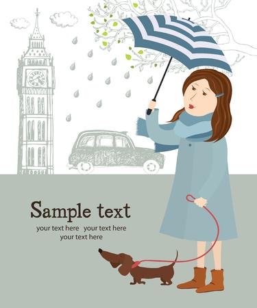 english girl: Spring in London