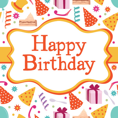 catchy: Happy Birthday party  Design card