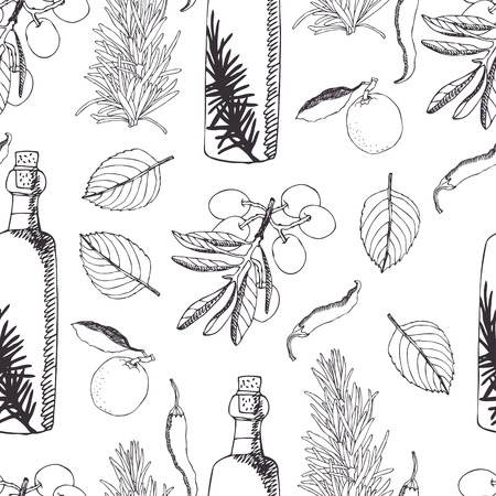 tuscan: Olive oil background.