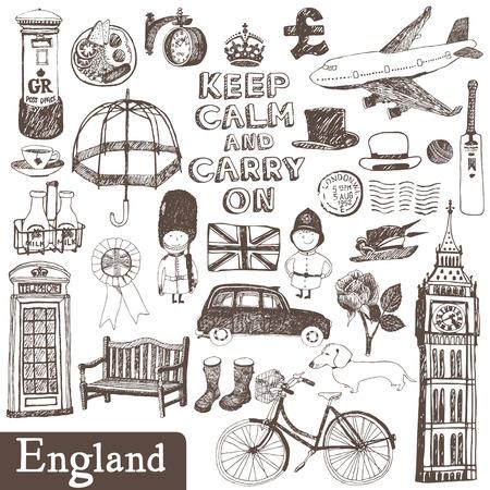 jack plane: English vector set: design elements